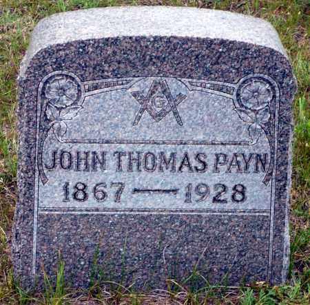 PAYN, JOHN THOMAS - Keya Paha County, Nebraska | JOHN THOMAS PAYN - Nebraska Gravestone Photos