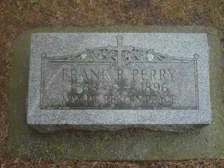 PERRY, FRANK R. - Keya Paha County, Nebraska | FRANK R. PERRY - Nebraska Gravestone Photos