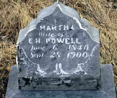 POWELL, MARTHA - Keya Paha County, Nebraska | MARTHA POWELL - Nebraska Gravestone Photos