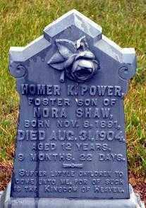 POWER, HOMER K. - Keya Paha County, Nebraska | HOMER K. POWER - Nebraska Gravestone Photos
