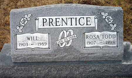 PRENTICE, WILL - Keya Paha County, Nebraska | WILL PRENTICE - Nebraska Gravestone Photos