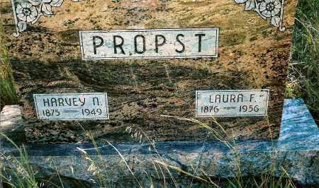 PROPST, LAURA F. - Keya Paha County, Nebraska | LAURA F. PROPST - Nebraska Gravestone Photos