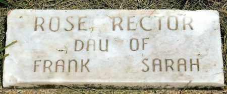 RECTOR, ROSE - Keya Paha County, Nebraska | ROSE RECTOR - Nebraska Gravestone Photos