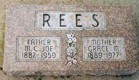 NEWSHAM REES, GRACE M. - Keya Paha County, Nebraska | GRACE M. NEWSHAM REES - Nebraska Gravestone Photos
