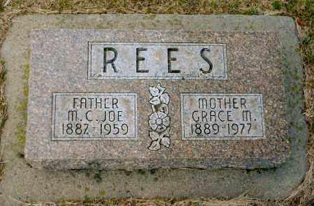 REES, GRACE M. - Keya Paha County, Nebraska | GRACE M. REES - Nebraska Gravestone Photos