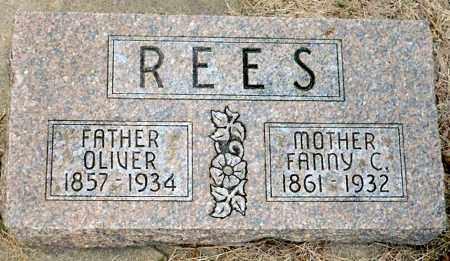 PREDMORE REES, FANNY C. - Keya Paha County, Nebraska | FANNY C. PREDMORE REES - Nebraska Gravestone Photos