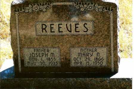 REEVES, JOSEPH M. - Keya Paha County, Nebraska | JOSEPH M. REEVES - Nebraska Gravestone Photos