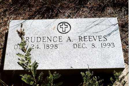 REEVES, PRUDENCE A. - Keya Paha County, Nebraska | PRUDENCE A. REEVES - Nebraska Gravestone Photos