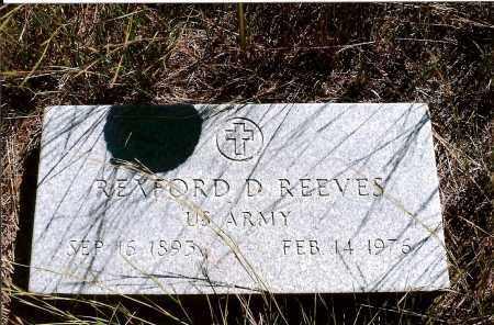 REEVES, REXFORD D. - Keya Paha County, Nebraska | REXFORD D. REEVES - Nebraska Gravestone Photos