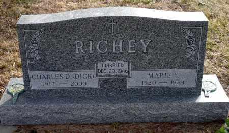 WOOD RICHEY,, MARIE E. - Keya Paha County, Nebraska | MARIE E. WOOD RICHEY, - Nebraska Gravestone Photos