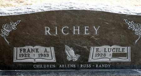 ADKINSON RICHEY, E. LUCILE - Keya Paha County, Nebraska | E. LUCILE ADKINSON RICHEY - Nebraska Gravestone Photos