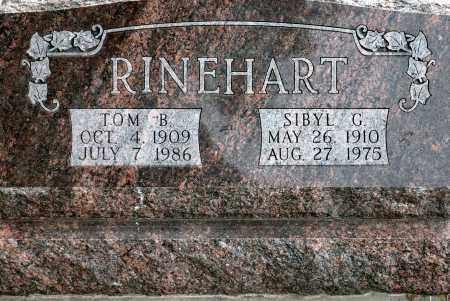 HOOPS RINEHART, SIBYL G. - Keya Paha County, Nebraska   SIBYL G. HOOPS RINEHART - Nebraska Gravestone Photos
