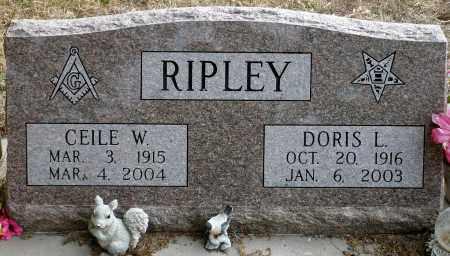 AMSPOKER RIPLEY, DORIS L. - Keya Paha County, Nebraska | DORIS L. AMSPOKER RIPLEY - Nebraska Gravestone Photos