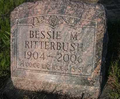 RITTERBUSH, BESSIE M. - Keya Paha County, Nebraska   BESSIE M. RITTERBUSH - Nebraska Gravestone Photos