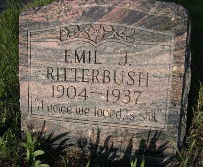 RITTERBUSH, EMIL J. - Keya Paha County, Nebraska | EMIL J. RITTERBUSH - Nebraska Gravestone Photos