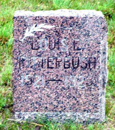 RITTERBUSH, LOUIS E. - Keya Paha County, Nebraska   LOUIS E. RITTERBUSH - Nebraska Gravestone Photos
