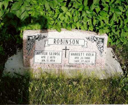 ROBINSON, ARTHUR GEORGE - Keya Paha County, Nebraska | ARTHUR GEORGE ROBINSON - Nebraska Gravestone Photos