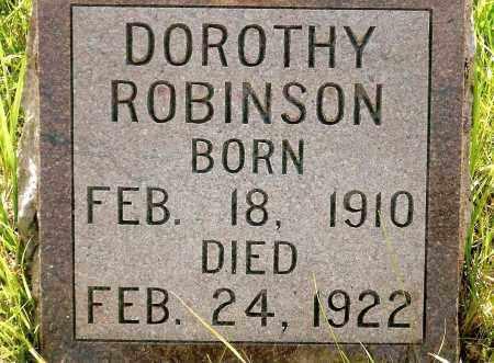 ROBINSON, DOROTHY - Keya Paha County, Nebraska   DOROTHY ROBINSON - Nebraska Gravestone Photos