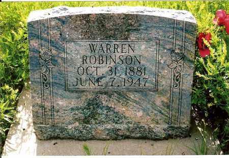 ROBINSON, WARREN - Keya Paha County, Nebraska | WARREN ROBINSON - Nebraska Gravestone Photos