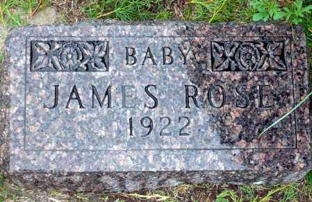 ROSE, JAMES - Keya Paha County, Nebraska | JAMES ROSE - Nebraska Gravestone Photos
