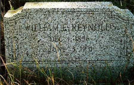 RYENOLDS, WILLIAM E. - Keya Paha County, Nebraska | WILLIAM E. RYENOLDS - Nebraska Gravestone Photos