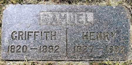 SAMUEL, GRIFFITH - Keya Paha County, Nebraska | GRIFFITH SAMUEL - Nebraska Gravestone Photos