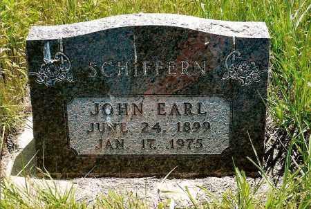 SCHIFFERN, JOHN EARL - Keya Paha County, Nebraska | JOHN EARL SCHIFFERN - Nebraska Gravestone Photos