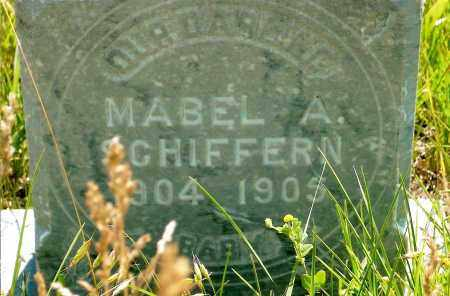 SCHIFFERN, MABEL A. - Keya Paha County, Nebraska | MABEL A. SCHIFFERN - Nebraska Gravestone Photos