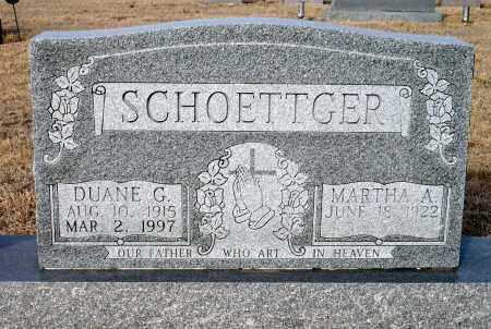 SCHOETTGER, MARTHA A. - Keya Paha County, Nebraska | MARTHA A. SCHOETTGER - Nebraska Gravestone Photos