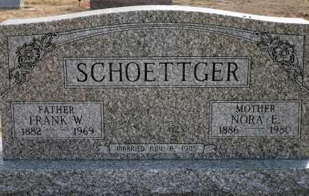 KIRSCH SCHOETTGER, NORA E. - Keya Paha County, Nebraska | NORA E. KIRSCH SCHOETTGER - Nebraska Gravestone Photos
