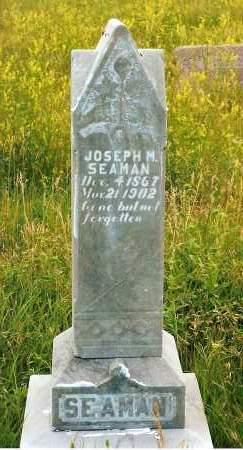 SEAMAN, JOSEPH M. - Keya Paha County, Nebraska | JOSEPH M. SEAMAN - Nebraska Gravestone Photos