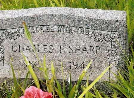 SHARP, CHARLES F. - Keya Paha County, Nebraska | CHARLES F. SHARP - Nebraska Gravestone Photos