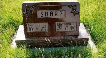 SHARP, ELIZABETH J. - Keya Paha County, Nebraska | ELIZABETH J. SHARP - Nebraska Gravestone Photos