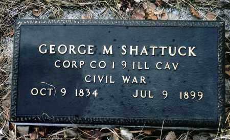 SHATTUCK, GEORGE M. - Keya Paha County, Nebraska | GEORGE M. SHATTUCK - Nebraska Gravestone Photos