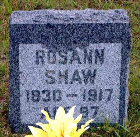 SHAW, ROSANN - Keya Paha County, Nebraska | ROSANN SHAW - Nebraska Gravestone Photos