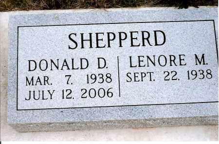 SHEPPERD, DONALD D. - Keya Paha County, Nebraska | DONALD D. SHEPPERD - Nebraska Gravestone Photos