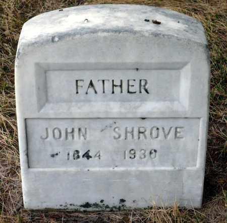 SHROVE, JOHN - Keya Paha County, Nebraska   JOHN SHROVE - Nebraska Gravestone Photos