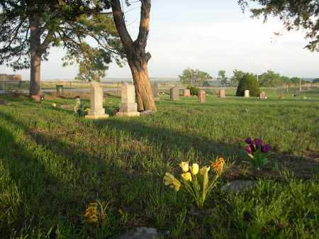 *SIMPSON CEMETERY, VIEW OF - Keya Paha County, Nebraska | VIEW OF *SIMPSON CEMETERY - Nebraska Gravestone Photos
