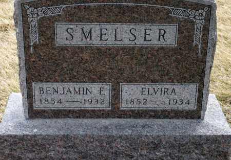 SMELSER, ELVIRA - Keya Paha County, Nebraska | ELVIRA SMELSER - Nebraska Gravestone Photos