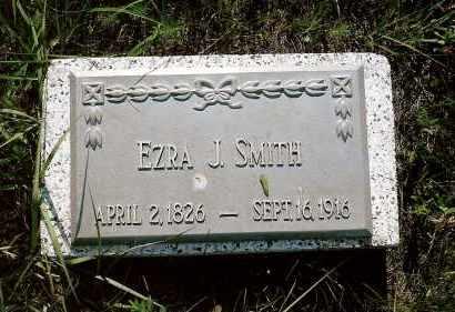 SMITH, EZRA J. - Keya Paha County, Nebraska | EZRA J. SMITH - Nebraska Gravestone Photos