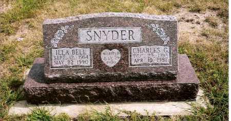 SNYDER, CHARLES GEORGE - Keya Paha County, Nebraska | CHARLES GEORGE SNYDER - Nebraska Gravestone Photos
