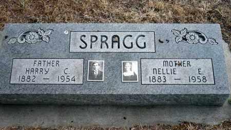 HUFFMAN SPRAGG, NELLIE E. - Keya Paha County, Nebraska | NELLIE E. HUFFMAN SPRAGG - Nebraska Gravestone Photos
