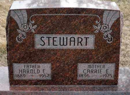 KING STEWART, CARRIE E. - Keya Paha County, Nebraska | CARRIE E. KING STEWART - Nebraska Gravestone Photos
