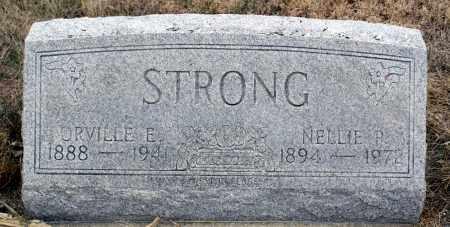 STRONG, ORVILLE E. - Keya Paha County, Nebraska | ORVILLE E. STRONG - Nebraska Gravestone Photos