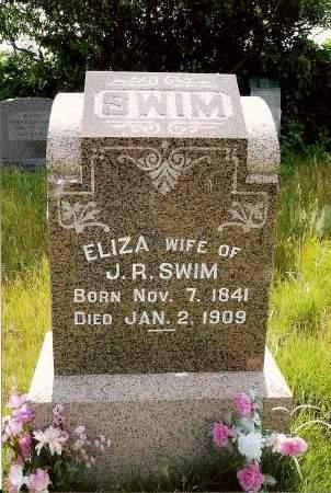 SWIM, ELIZA - Keya Paha County, Nebraska | ELIZA SWIM - Nebraska Gravestone Photos