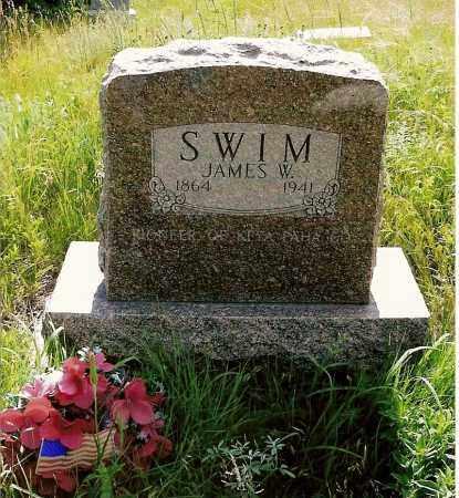 SWIM, JAMES W. - Keya Paha County, Nebraska   JAMES W. SWIM - Nebraska Gravestone Photos