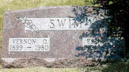 SWIM, ESTHER A. - Keya Paha County, Nebraska | ESTHER A. SWIM - Nebraska Gravestone Photos