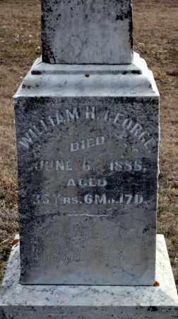 TARKET, WILLIAM H. GEORGE - Keya Paha County, Nebraska | WILLIAM H. GEORGE TARKET - Nebraska Gravestone Photos