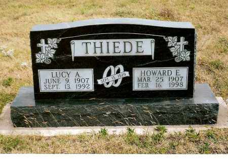 THIEDE, HOWARD E. - Keya Paha County, Nebraska | HOWARD E. THIEDE - Nebraska Gravestone Photos