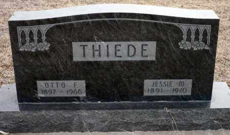 WILKINS THIEDE, JESSIE M. - Keya Paha County, Nebraska   JESSIE M. WILKINS THIEDE - Nebraska Gravestone Photos
